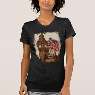 Wellcoda London City England Union Jack Shirt