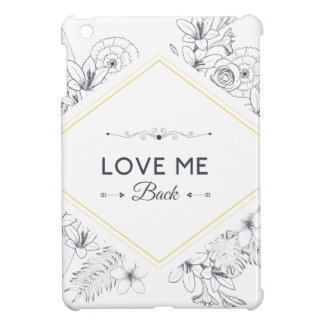 Wellcoda Love Me Back Promise Flower Life Cover For The iPad Mini
