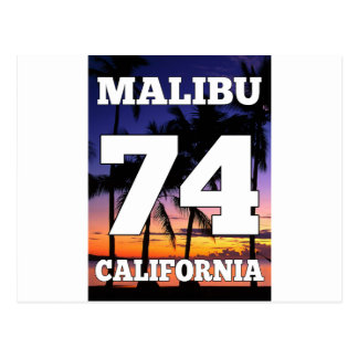 Wellcoda Malibu California USA Beach Life Postcard