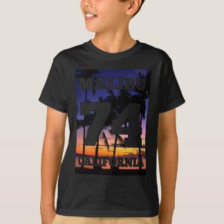 Wellcoda Malibu California USA Beach Life T-Shirt