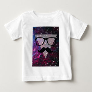 Wellcoda Master Disguise Space Funny Face Baby T-Shirt