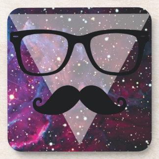 Wellcoda Master Disguise Space Funny Face Coaster