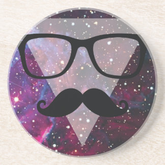 Wellcoda Master Disguise Space Funny Face Drink Coaster