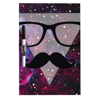 Wellcoda Master Disguise Space Funny Face Dry Erase Board