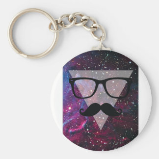 Wellcoda Master Disguise Space Funny Face Keychain