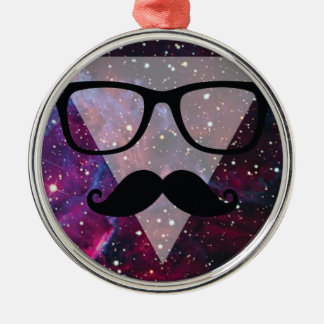 Wellcoda Master Disguise Space Funny Face Metal Ornament
