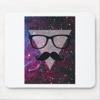 Wellcoda Master Disguise Space Funny Face Mouse Pad