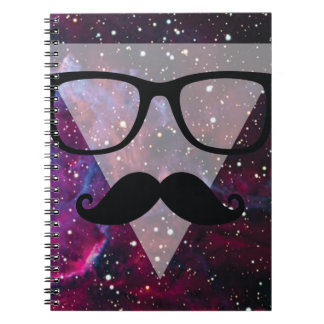Wellcoda Master Disguise Space Funny Face Spiral Notebook