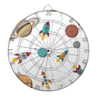 Wellcoda Meet You In Galaxy Mad Planet Dartboard