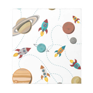 Wellcoda Meet You In Galaxy Mad Planet Notepad