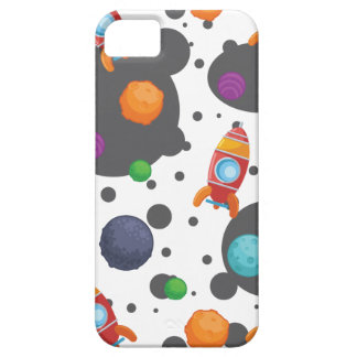 Wellcoda Meet You In Space Fun Mad Planet iPhone SE/5/5s Case