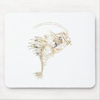 Wellcoda Monster Fishing Bait Bone Catch Mouse Pad