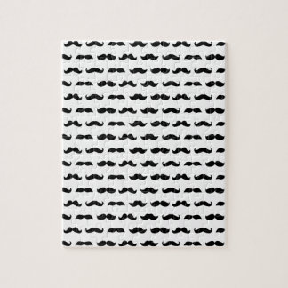 Wellcoda Moustache Epic Print Facial Hair Jigsaw Puzzle