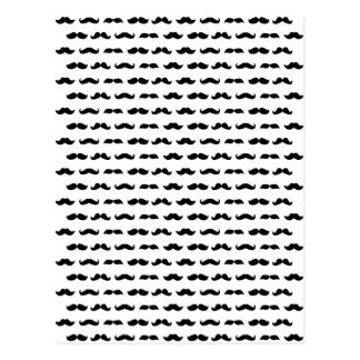 Wellcoda Moustache Epic Print Facial Hair Postcard