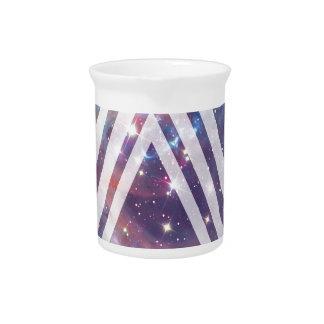 Wellcoda Multi Triangle Space Universe Fun Drink Pitcher