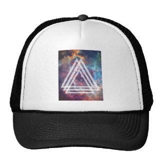 Wellcoda Multi Triangle Space Universe Fun Trucker Hat
