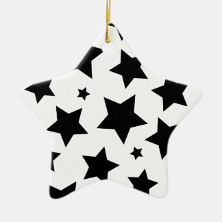 Wellcoda Multiple Star Effect Night Sky Ceramic Ornament