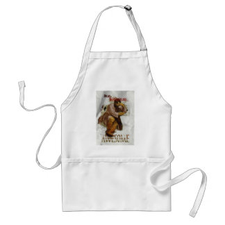 Wellcoda My Shoes Are Awesome Funny Joke Adult Apron