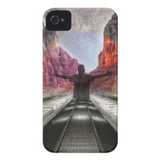 Wellcoda Nature City Fantasy Free Human iPhone 4 Case