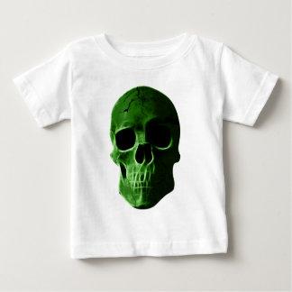 Wellcoda Neon Glow Skull Head Scary Face Baby T-Shirt