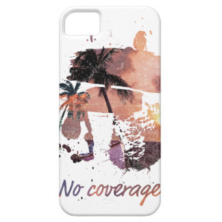 Wellcoda No Coverage Paradise Island Life iPhone SE/5/5s Case