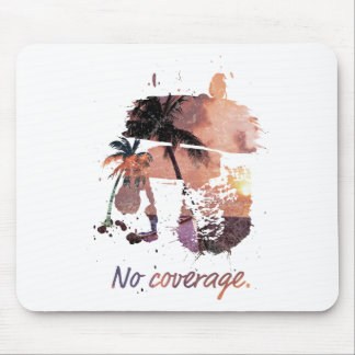 Wellcoda No Coverage Paradise Island Life Mouse Pad