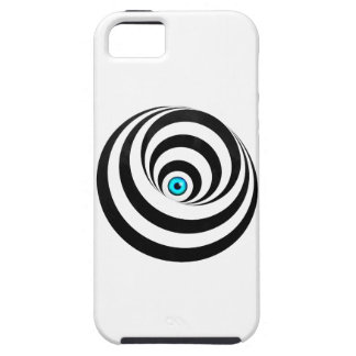 Wellcoda Optical Illusion Eye Vision Idea iPhone SE/5/5s Case