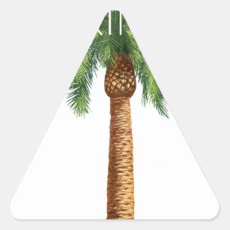 Wellcoda Palm Springs Holiday Summer Fun Triangle Sticker