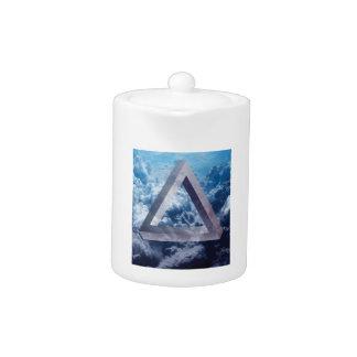 Wellcoda para arriba en el triángulo de la forma
