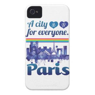 Wellcoda Paris For Everyone Love City iPhone 4 Cover