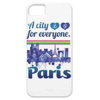 Wellcoda Paris For Everyone Love City iPhone SE/5/5s Case
