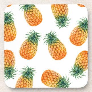 Wellcoda Pineapple Fruit Bowl Summer Fun Coaster