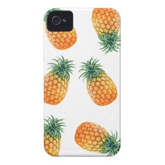 Wellcoda Pineapple Fruit Bowl Summer Fun iPhone 4 Cover