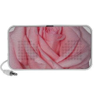 Wellcoda Pink Rose Romantic Flower Power Mini Speaker