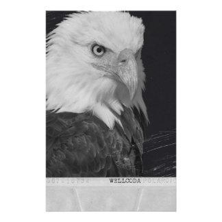 Wellcoda Polaroid Eagle Snap Bird Of Prey Stationery