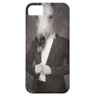Wellcoda Retro Animal Portrait Horse Face iPhone SE/5/5s Case