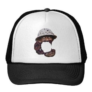 Wellcoda Rice Farmer Face Melt Asian Life Trucker Hat