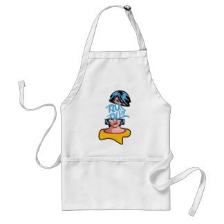 Wellcoda Rock And Roll Crazy Music Soul Adult Apron