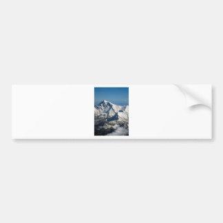 Wellcoda Rocky Mountain Range Snow Rock Bumper Sticker