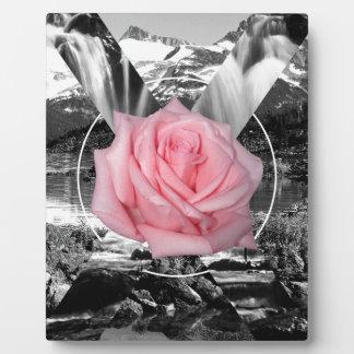 Wellcoda Rocky Mountain Rose Nature Love Plaque