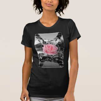 Wellcoda Rocky Mountain Rose Nature Love T Shirt