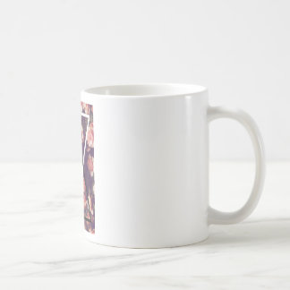 Wellcoda Romantic Rose Triangle Love Shape Coffee Mug