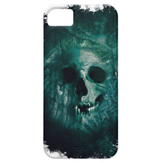Wellcoda Scary Horror Skull Face Skeleton iPhone SE/5/5s Case