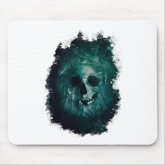 Wellcoda Scary Horror Skull Face Skeleton Mouse Pad