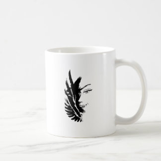Wellcoda Scary Vampire Face Eagle Flight Coffee Mug
