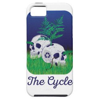 Wellcoda Skeleton Skull Earth Recycle Pot iPhone SE/5/5s Case