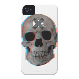 Wellcoda Skull Head 3D Die Death Skeleton Case-Mate iPhone 4 Case