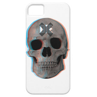 Wellcoda Skull Head 3D Die Death Skeleton iPhone SE/5/5s Case