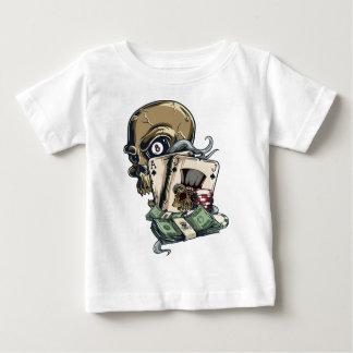 Wellcoda Skull Head Gambling Play Death Baby T-Shirt