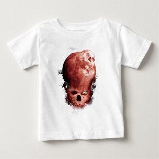 Wellcoda Skull Scary Moon Face Apocalypse Baby T-Shirt